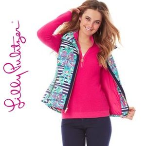 Lilly Pulitizer Syd Down Vest 87955 - L